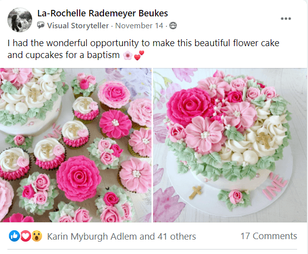 Buttercream Flower Cakes Master Class