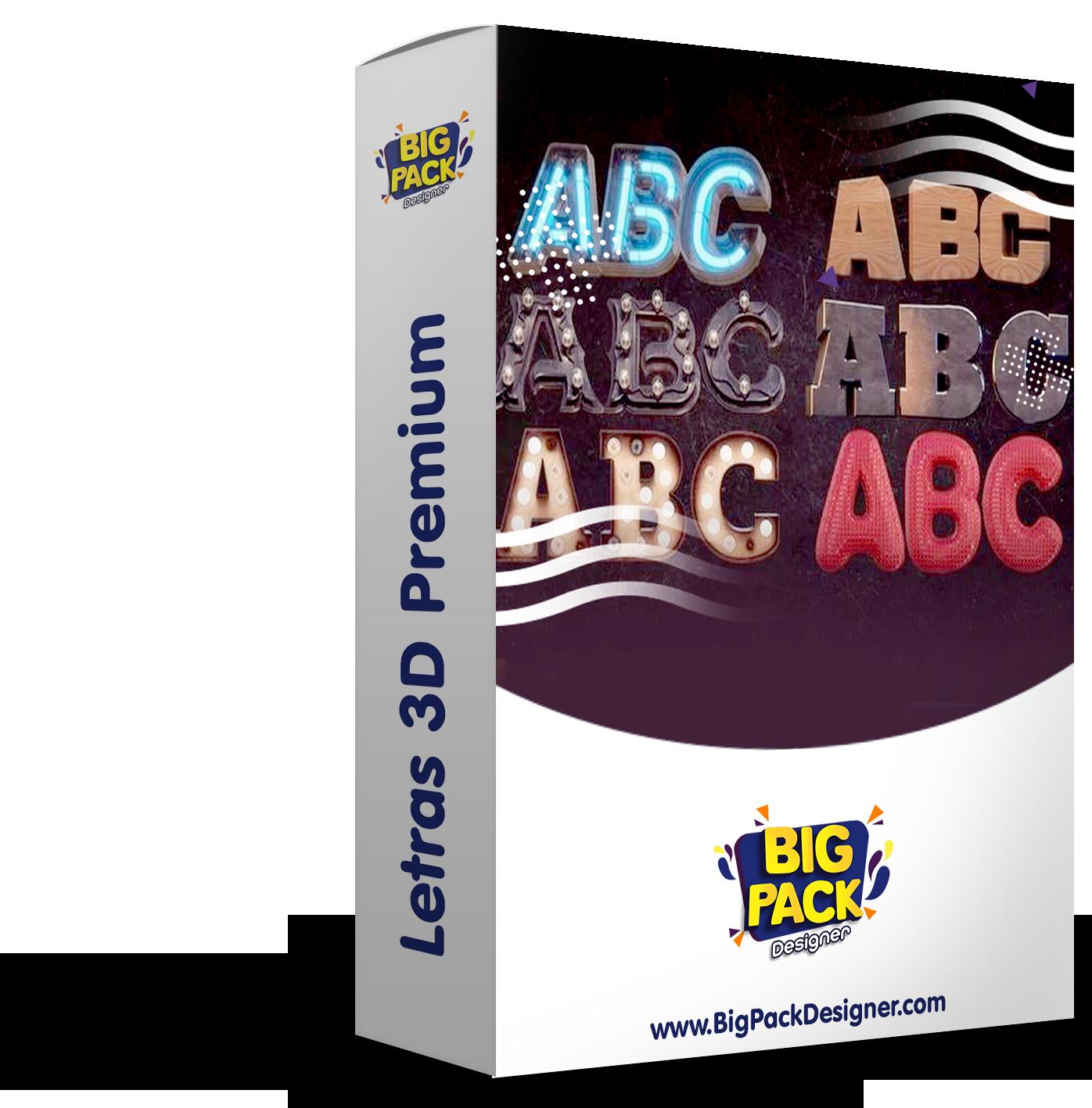 1.992 Letras Premium 3D