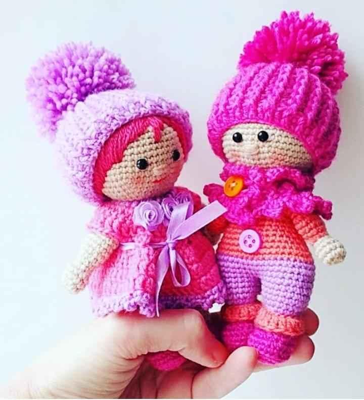 Boneca amigurumi ruiva | Boneca amigurumi, Bonecas, Bonecas de crochê | 792x720